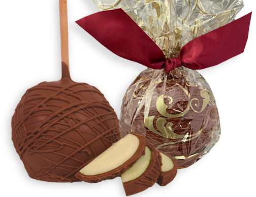 MILK Chocolate Covered Caramel Apples