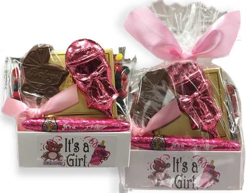 It's a Girl! Large Theme Box