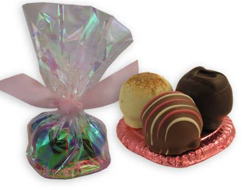 Chocolate Rosemary Heart Favor