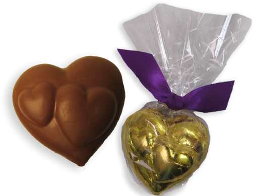 Chocolate Hearts within a Heart