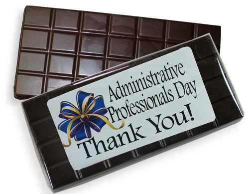 Dark Administrative Professional's Day Bar