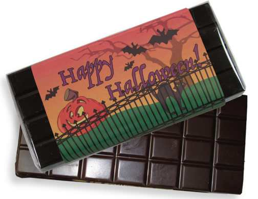 Halloween Dark Chocolate Candy Bar