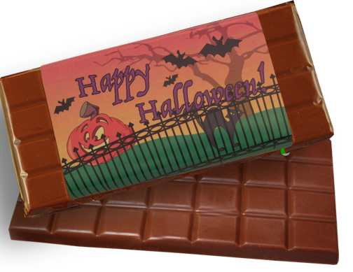 Halloween Milk Chocolate Candy Bar