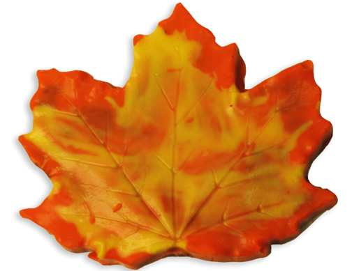 Chocolate Maple Leaf