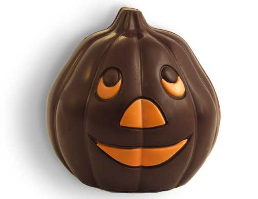 Dark Chocolate Jack-O-Lantern