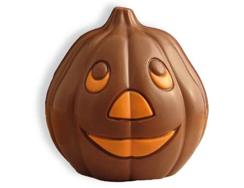 Milk Chocolate Jack-O-Lantern
