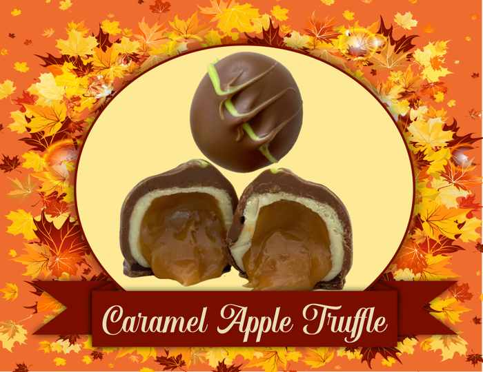 1/2 lb. Caramel Apple Truffles