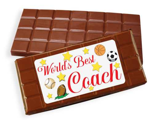 Coach Milk Chocolate Candy Bar