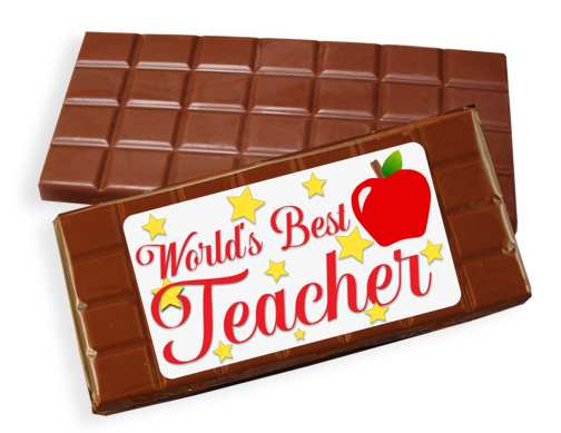 Teacher Milk Chocolate Candy Bar