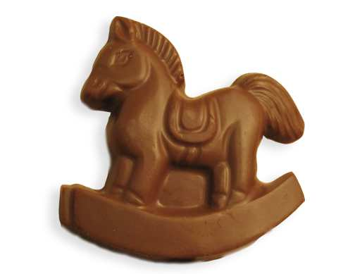 Chocolate Rocking Horse
