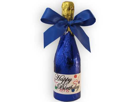 Birthday Champagne Bottle