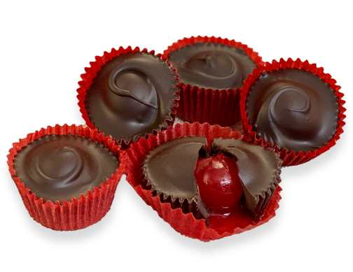 1/2 lb Cherry Cordials DARK CHOCOLATE