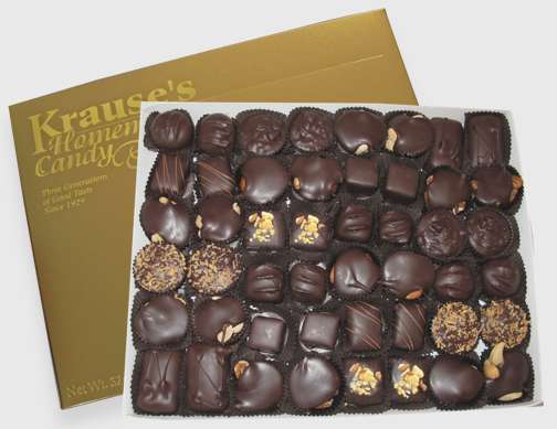 2 lb. Nuts & Chews DARK CHOCOLATE