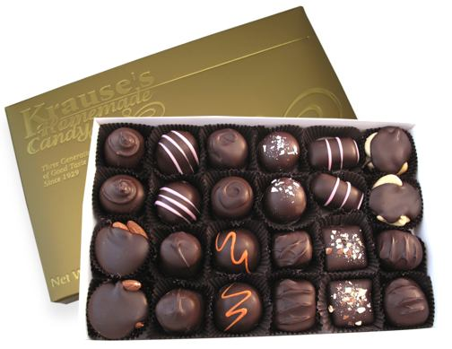 1 lb Assorted Favorites DARK CHOCOLATE
