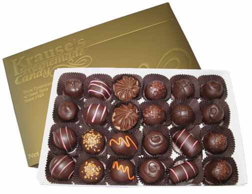 1 lb Soft Centers DARK CHOCOLATE