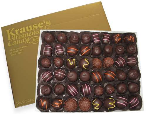 2 lb Soft Centers DARK CHOCOLATE