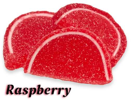 Raspberry Fruit Slices - 4 oz.