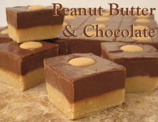 Peanut Butter Chocolate Fudge [1 lb.]