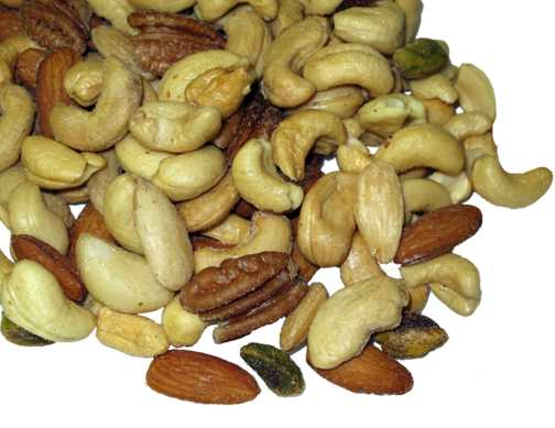 Roasted Salted Mixed Nuts - 1 lb.