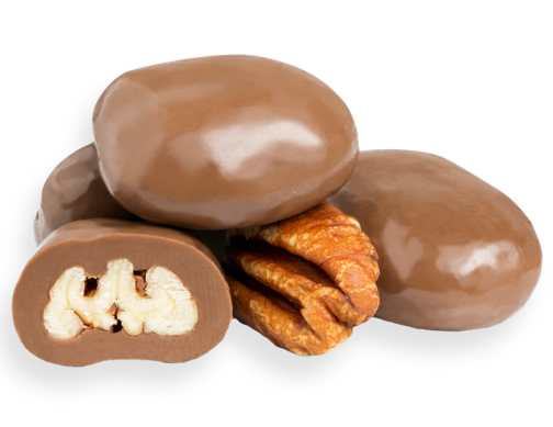 Milk Chocolate Pecans - 1/2 LB