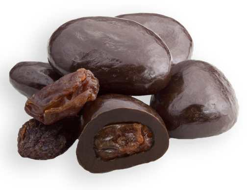 Dark Chocolate Raisins - 1/2 LB