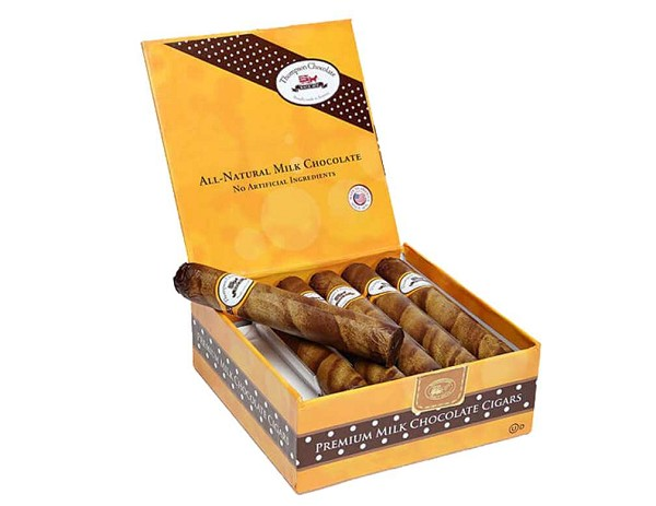 A Milk Chocolate Cigar that can pass for the real thing!