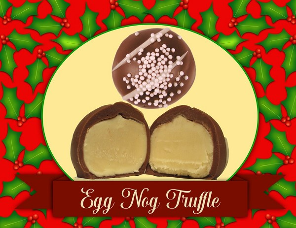 A wonderful and traditional flavor of the season, in a delicious bite-size chocolate.