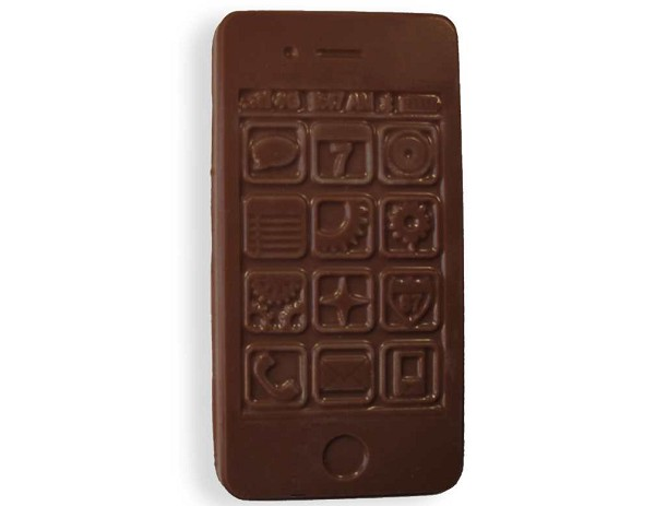 A chocolate Cell Phone; not very good reception (well, none actually), but it tastes great.