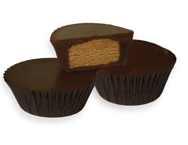 Fresh Roasted Peanuts make the difference in our Peanut Butter Cups. After having these you will never go back to your old peanut butter cup!
