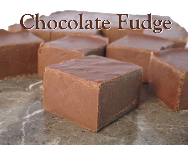 Classic chocolate fudge!