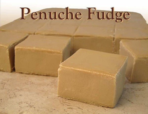 Our traditional Penuche fudge is a sweet vanilla fudge made with brown sugar, giving it that unique and delicious flavor.